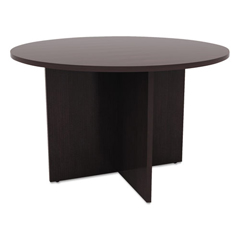 ALEVA7142ES - Alera® Valencia Series Round Conference Tables with Straight Leg Base
