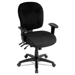 ALEWR42FB10B - Alera® Wrigley Series High Performance Mid-Back Multifunction Chair