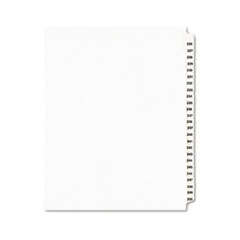 AVE01339 - Avery® Individual Legal Dividers Side Tab