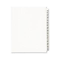 AVE01345 - Avery® Individual Legal Dividers Side Tab
