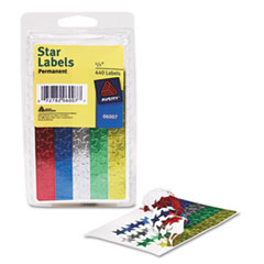 AVE06007 - Avery® Colored Foil Stars