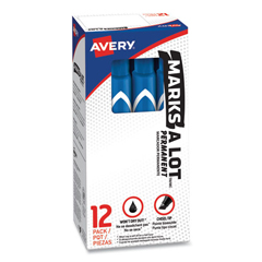 AVE08886 - Avery® Marks-A-Lot® Large Chisel Tip Permanent Marker