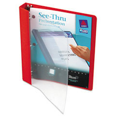 AVE10853 - Avery® See-Thru™ Round Ring View Binder