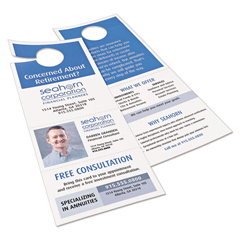 AVE16150 - Avery® Door Hanger w/Tear-Away Cards