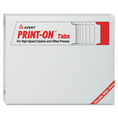 AVE20406 - Avery® Print-On™ Tabs for High-Speed Copiers