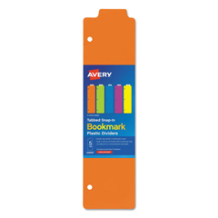 AVE24908 - Avery® Tabbed Snap-In Bookmark Plastic Dividers