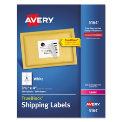 AVE5164 - Avery® Shipping Labels with TrueBlock™ Technology