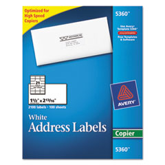 AVE5360 - Avery® Copier Mailing Labels