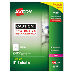 AVE6579 - Avery® Permanent Durable ID Labels
