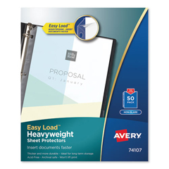 AVE74107 - Avery® Nonglare Finish Sheet Protector