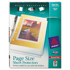 AVE74203 - Avery® Diamond Clear Page Size Sheet Protector