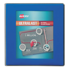 AVE79712 - Avery® UltraLast™ Heavy-Duty View Binder with One Touch Slant Rings
