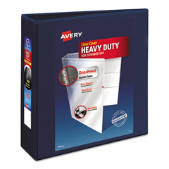 AVE79803 - Avery® Extra-Wide Heavy-Duty View Binder with One Touch EZD® Ring