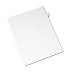 AVE82167 - Avery® Collated Legal Dividers Allstate® Style Side Tab