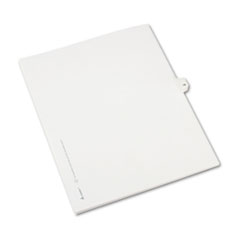 AVE82212 - Avery® Collated Legal Dividers Allstate® Style Side Tab