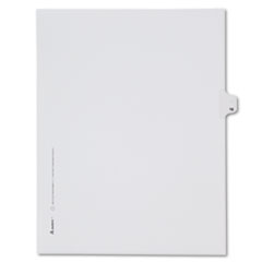 AVE82214 - Avery® Collated Legal Dividers Allstate® Style Side Tab
