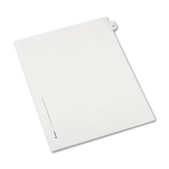AVE82222 - Avery® Collated Legal Dividers Allstate® Style Side Tab