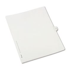 AVE82235 - Avery® Collated Legal Dividers Allstate® Style Side Tab