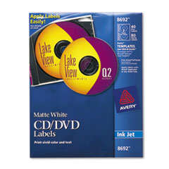 AVE8692 - Avery® CD/DVD Labels