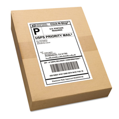 AVE95900 - Avery® Shipping Labels with Ultrahold™ Adhesive and TrueBlock® Technology