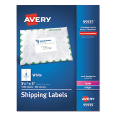 AVE95935 - Avery® White Shipping Labels