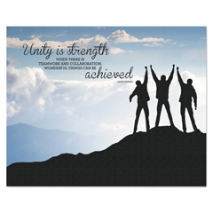 AVT78094 - Advantus® Silhouette Canvas Motivational Print