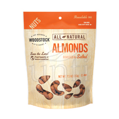 BFG06761 - Woodstock FarmsRoasted & Salted Almonds