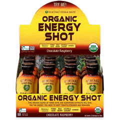 BFG22024 - GuayakiChocolate Raspberry Organic Energy Shot