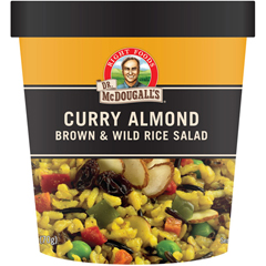 BFG50946 - Dr. McDougall'sCurry Almond Brown & Wild Rice Salad