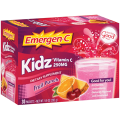 BFG52257 - Emergen-CKidz Drink Mix, Fruit Punch