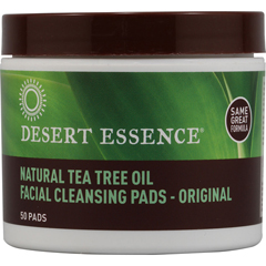 BFG54282 - Desert EssenceTea Tree Oil Cleansing Pads