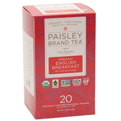 BFG57264 - Paisley TeaOrganic English Breakfast Tea