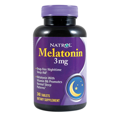 BFG58307 - NatrolAntistress & Relaxation - Melatonin 3mg