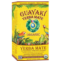 BFG62772 - GuayakiTraditional Yerba Mate Tea