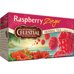 BFG63488 - Celestial SeasoningsRaspberry Zinger Herbal Tea
