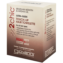 BFG68405 - Giovanni Hair Care ProductsUltra-Sleek Touch-Up Hair Towelettes