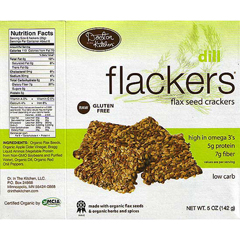 BFG75024 - Dr. In The KitchenFlackers Dill