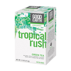 BFG79280 - Good EarthTropical Rush Organic Green Tea with Mango, Peach, & Pineapple