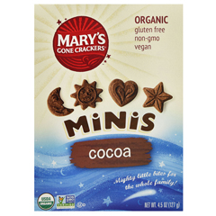 BFG80142 - Mary's Gone CrackersCocoa Mini Cookies