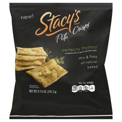 BFG80609 - Stacy's SnacksPerfectly Thymed Pita Crisps