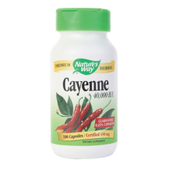 BFG86261 - Nature's WaySingle Herbs - Cayenne Pepper