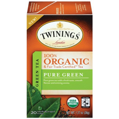 BFG88115 - TwiningsPure Green Organic & Fair Trade Tea