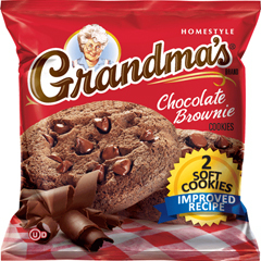 BFVFRI10310 - Frito-LayGrandmas Cookies Chocolate Brownie