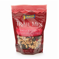 BFVGEN100600 - KraftPlanters Trail Mix Sweets and Nuts