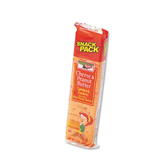 BFVKEE21164 - KeeblerCracker Cheese & Peanut Butter 8ct