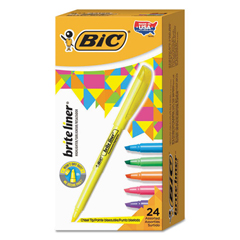 BICBL241AST - BIC® Brite Liner® Highlighter