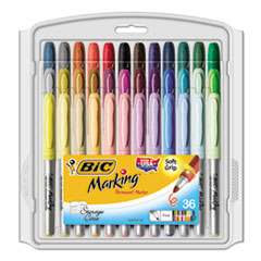 BICGXPMP361ASST - BIC® Mark-It® Fine Point Permanent Marker