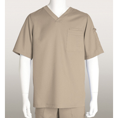BRC0103X-230-5XL - Grey's AnatomyMens 3-Pocket Scrub Top