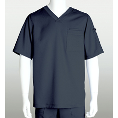 BRC0103X-905-4XL - Grey's AnatomyMens 3-Pocket Scrub Top