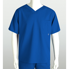 BRC0107-08-S - Grey's AnatomyMens 3-Pocket High Open V-Neck Scrub Top